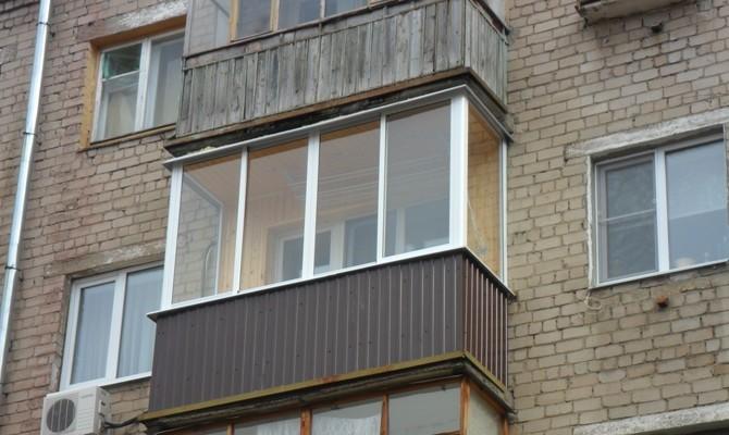 Услуги - балконы. внутренняя отделка. остекление в оренбургс.