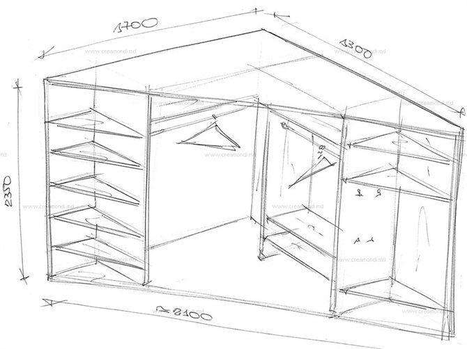 Угловой шкаф своими руками схемы фото 181