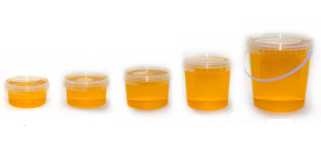 Пластик контейнеры для меда 39