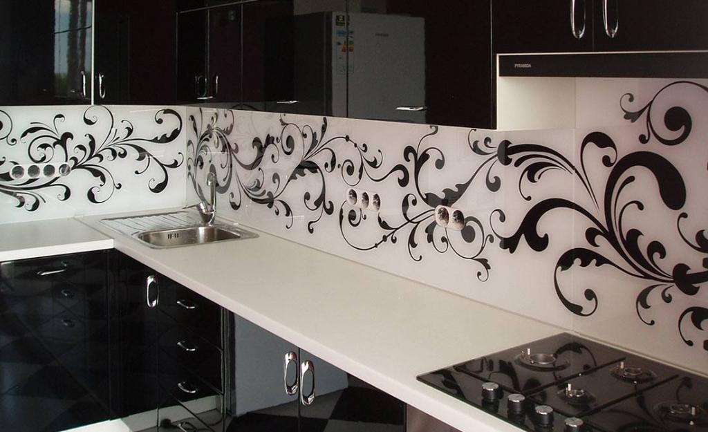 Как крепится скинали на стенку стеновые мдф панели для кухни зона плиты