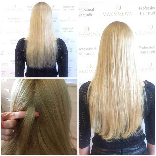 отзывы кто наращивал волосы для объема можно ли красить корни