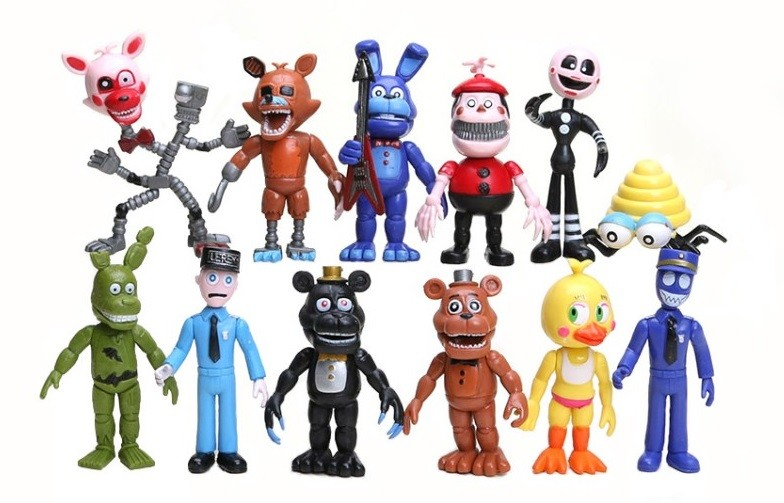 5 ночей с фредди игрушки аниматроники