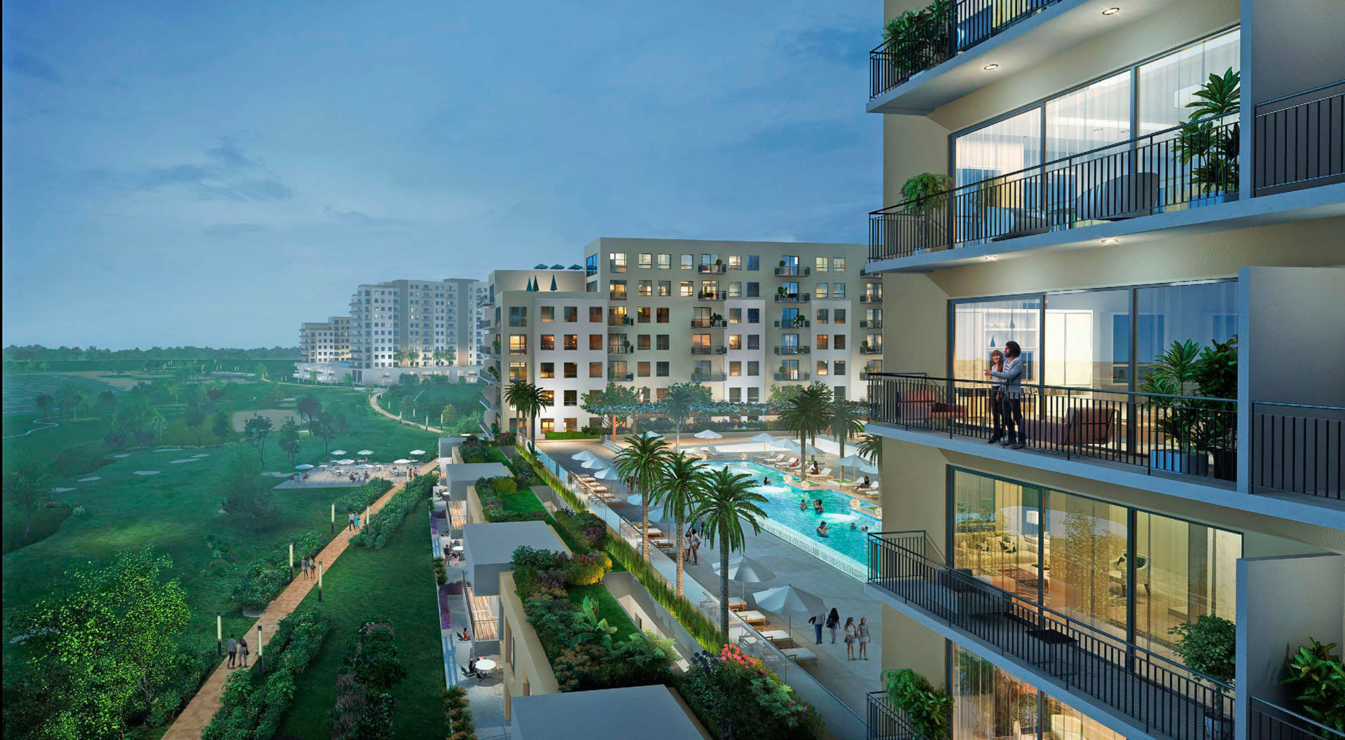 apartments at the heart of Emaar South