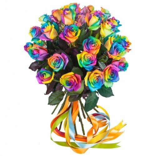 Радужные розы где купить в москве где заказать и просмотреть каталог семян цветов в картинках