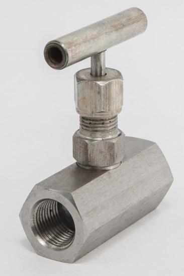 15с54бк DN 6-25; PN 160; 250; 400 — клапан игольчатый