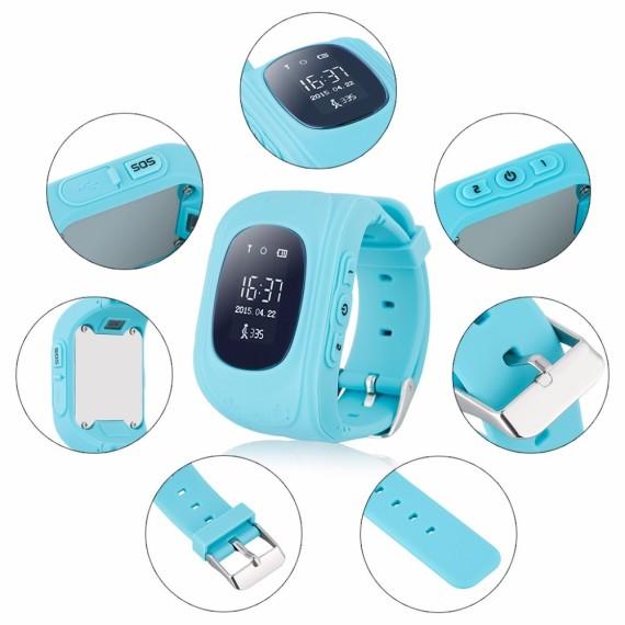 Детские Умные Часы с GPS Трекером Smart Baby Watch Q50 Характеристики