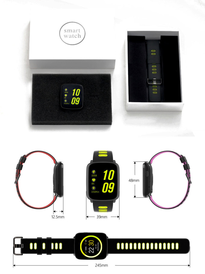 Умные Часы Smart Watch GV68 Характеристики