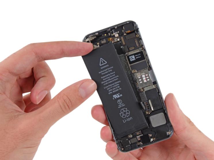 замена аккумулятора на iphone 5s тула