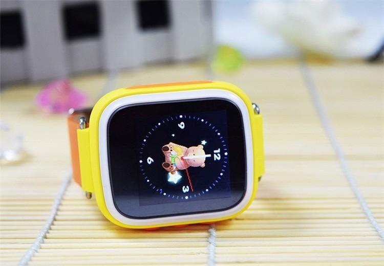Детские Умные Часы с GPS Трекером Smart Baby Watch Q70 желтые