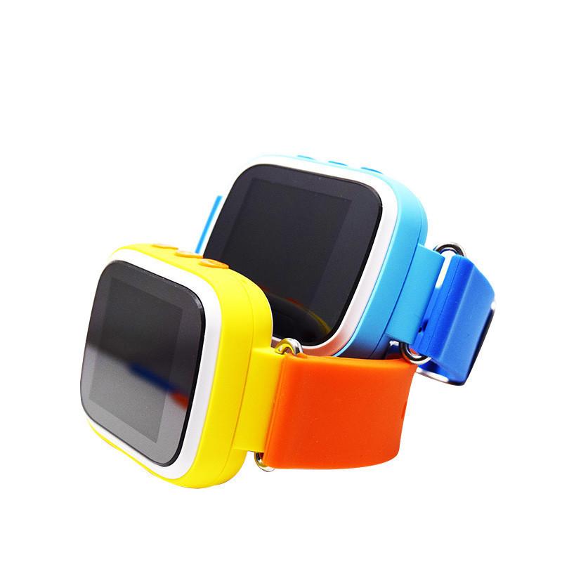 Детские Умные Часы с GPS Трекером Smart Baby Watch Q70 Голубые