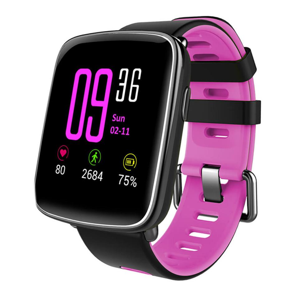 Умные Часы Smart Watch GV68 фиолетовые
