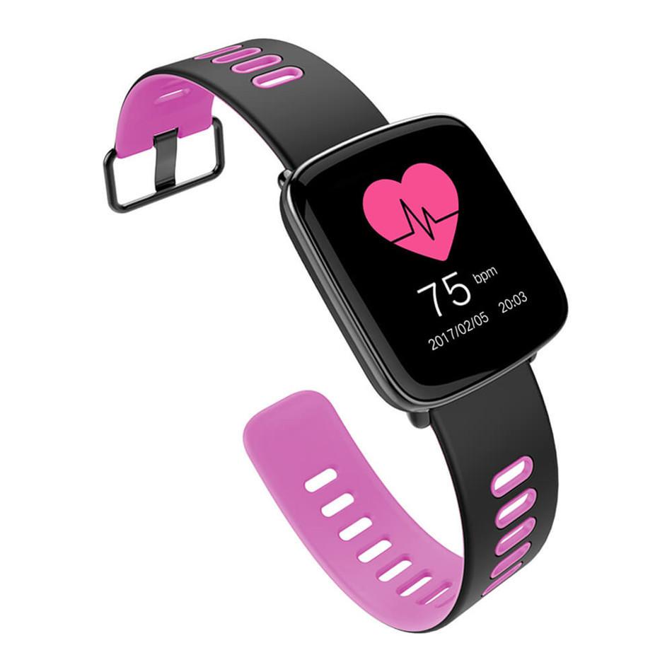 Умные Часы Smart Watch GV68 розовые