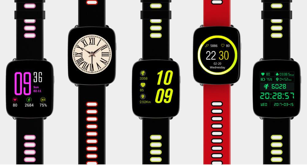 Умные Часы Smart Watch GV68 циферблаты