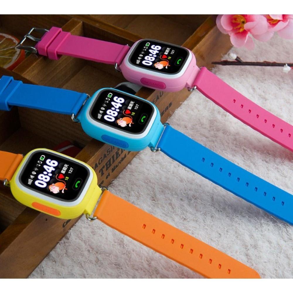 Детские Умные Часы с GPS Трекером Smart Baby Watch Q80 цвета