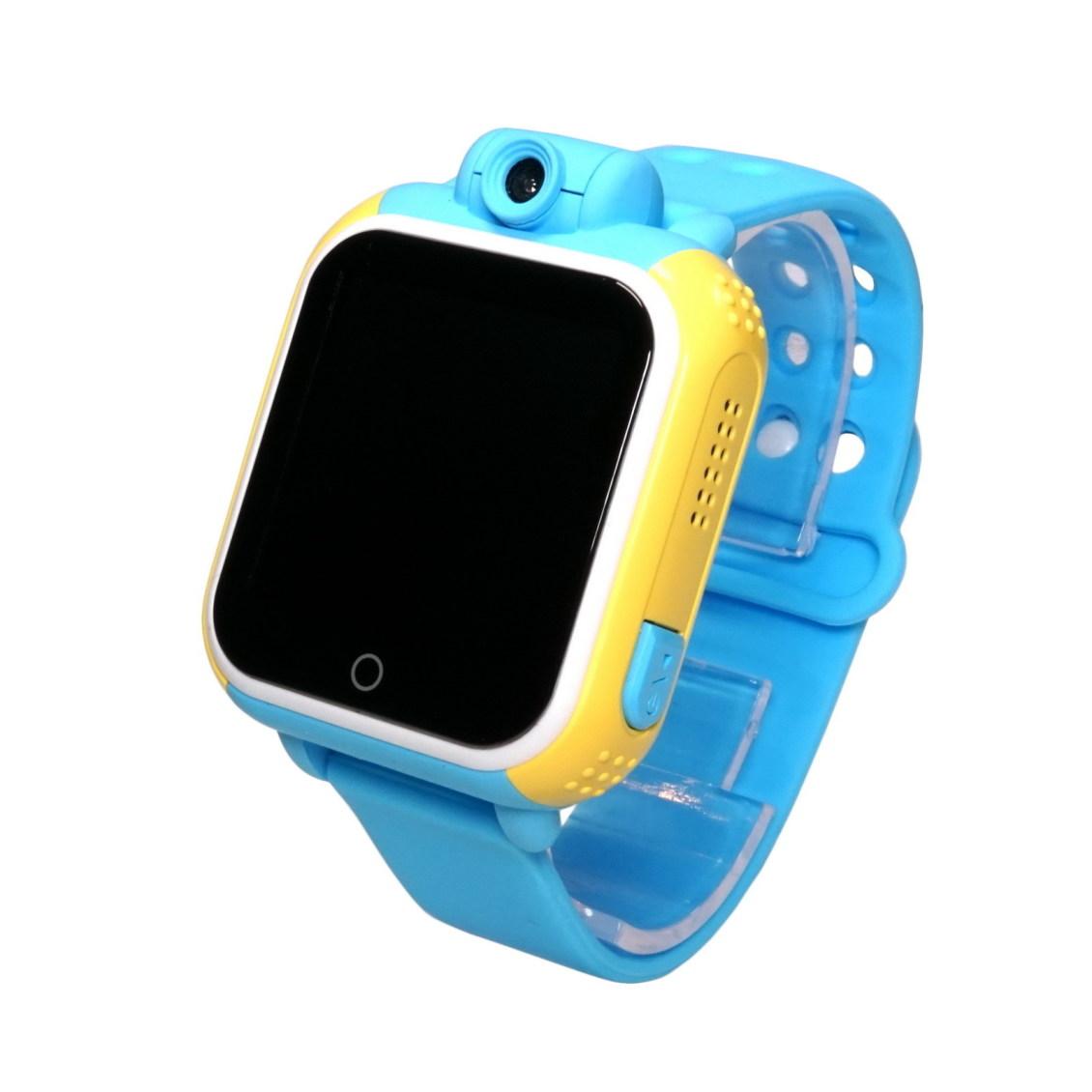 Детские Умные Часы с GPS Трекером Smart Baby Watch Q75 Q200 GW1000 синие